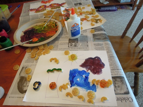 Painting the Pasta