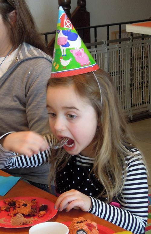 Eating Her Cake